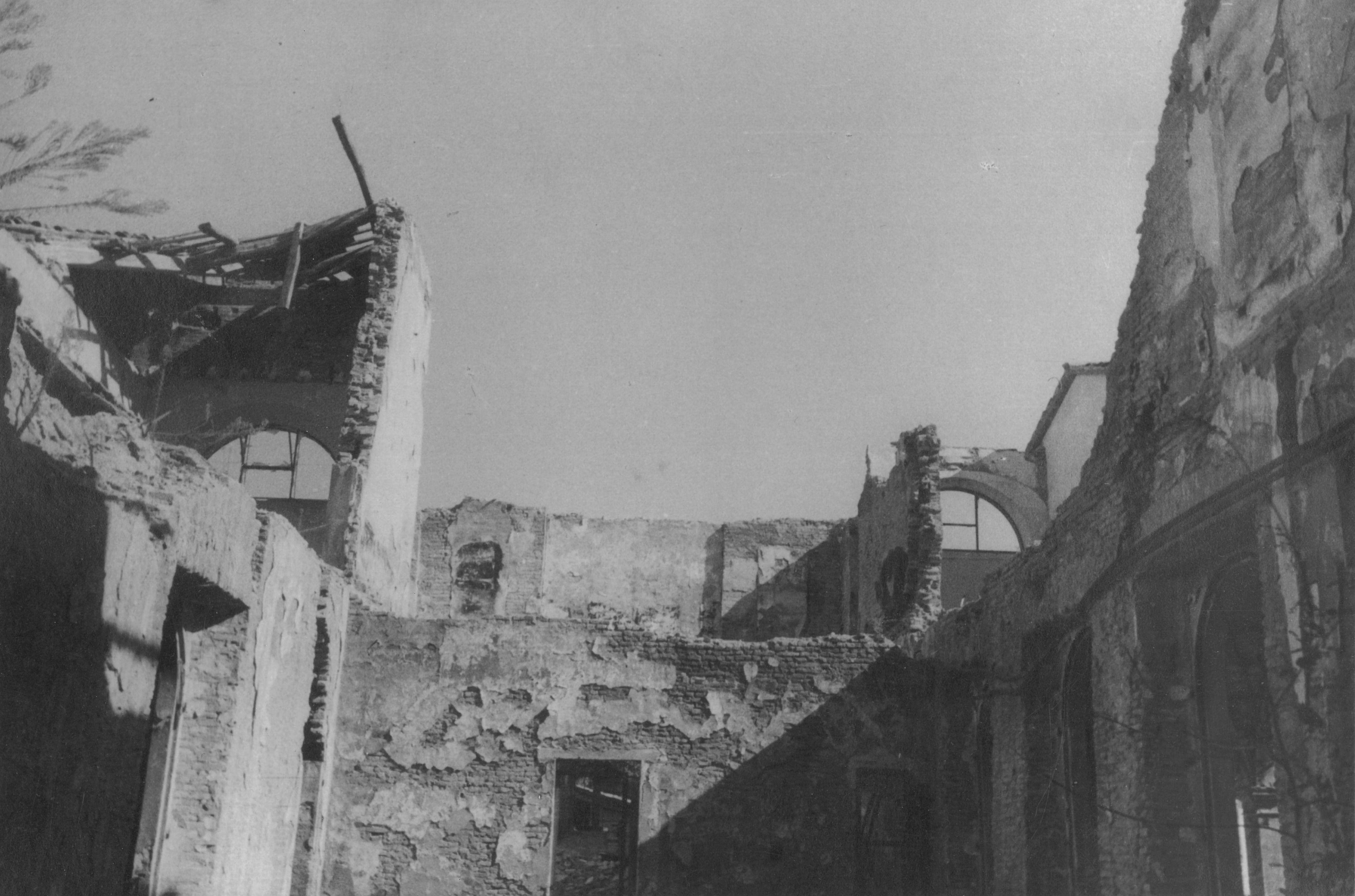 Distruzione patrimonio artistico faenza