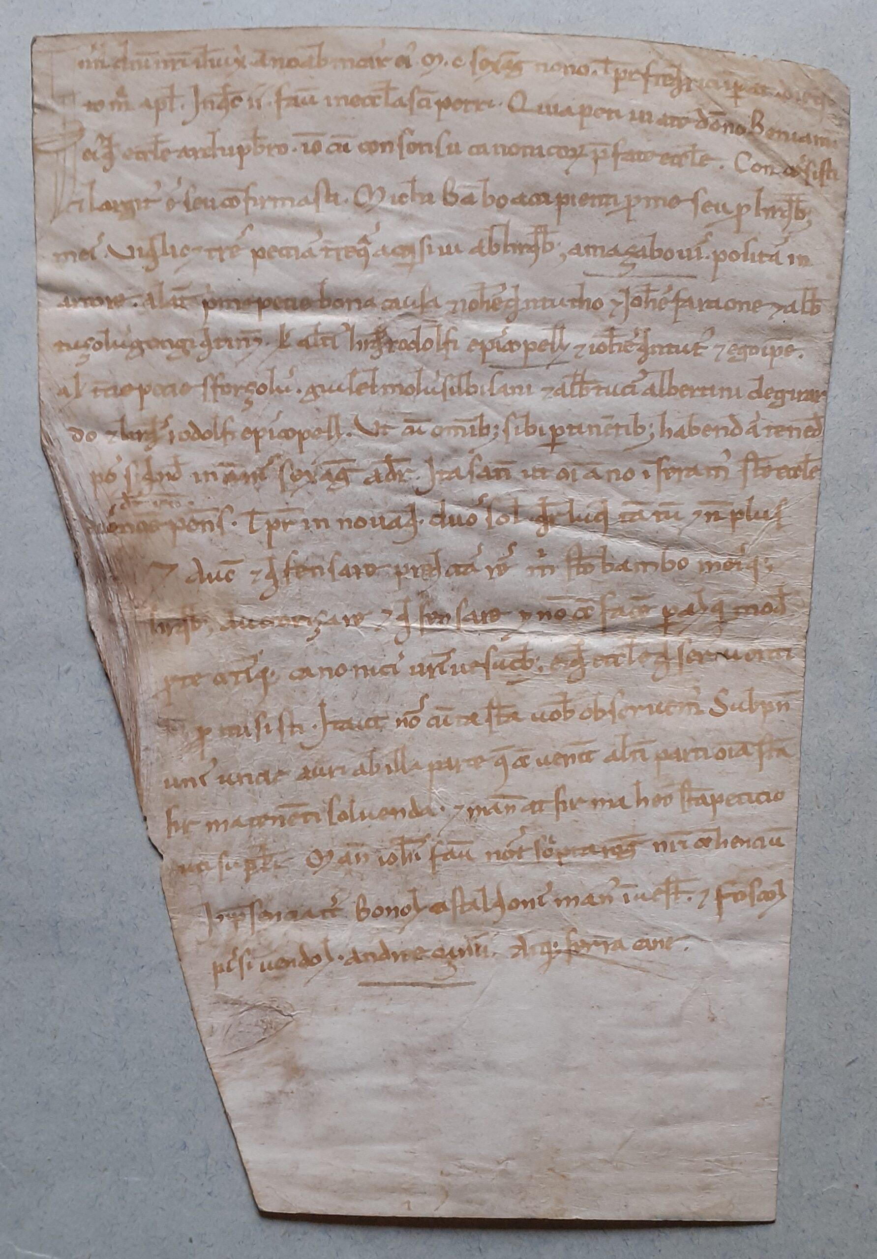 Correva l'anno 1169